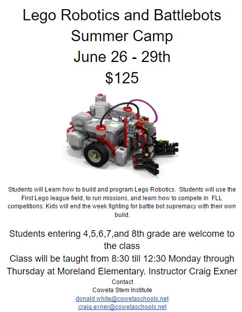 Robotics camp 17